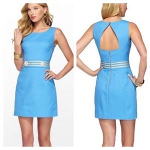 Lilly Pulitzer Size 4 Kirkland Cut Out Tank Dress